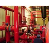 custo de sistema prevenção de incêndio Santa Cecília