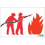 distribuidor de extintor de incêndio no Pacaembu