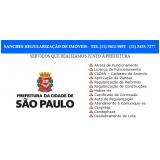 empresa de regularização de construção em imóvel Alto de Pinheiros