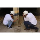laudo de inspeção estrutural Água Rasa
