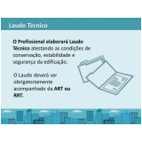 laudo técnico de engenharia Bragança Paulista