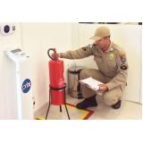 onde fazer vistoria bombeiro em empresa Cotia