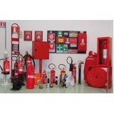sistema de incêndio comércio Santa Cecília