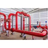 sistema de incêndio instalação de alarme